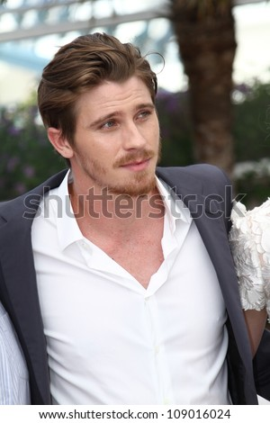 CANNES, FRANCE - MAY 23: Garrett Hedlund attends the 'On The Road' Photocall during the - 65th Annual Cannes Film Festival at Palais des Festivals on May 23, 2012 in Cannes, France. - stock photo