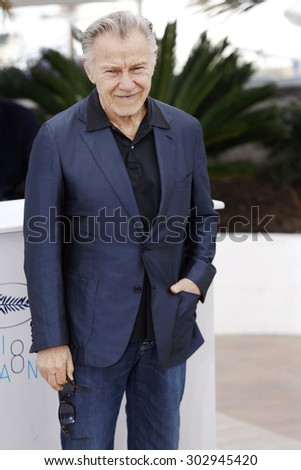 CANNES, FRANCE- MAY 20 : Harvey Keitel attends the 'Youth' photo-call during the 68th Cannes Film Festival on May 20, 2015 in Cannes, France.