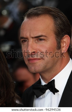 CANNES, FRANCE - MAY 15: Jean Dujardin attends the 'The Artist' during the 64 Cannes Film Festival at Palais on May 15, 2011 in Cannes, France