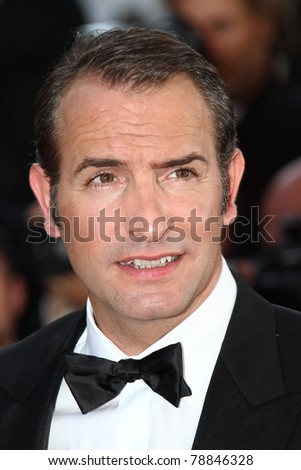 CANNES, FRANCE - MAY 15: Jean Dujardin attends the 'The Artist' Premiere during the 64th Cannes Film Festival at Palais des Festivals on May 15, 2011 in Cannes, France