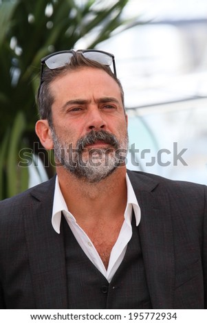 CANNES, FRANCE - MAY 17: Jeffrey Dean Morgan  attends the 'The Salvation' photocall at the 67th Annual Cannes Film Festival on May 17, 2014 in Cannes, France. - stock photo