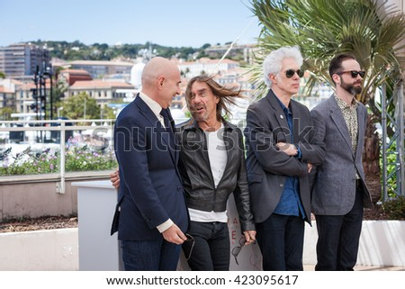 Cannes, France - 19 MAY 2016 - Jim JARMUSCH and IGGY POP attends the 'GIMME DANGER' Photocall at the annual 69th Cannes Film Festival at Palais des Festivals