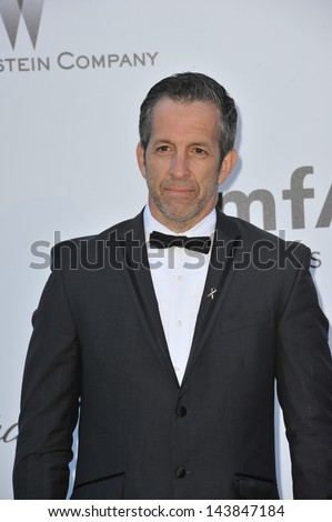 CANNES, FRANCE - MAY 23, 2013: Kenneth Cole at amfAR's 20th Cinema Against AIDS Gala at the Hotel du Cap d'Antibes, France  - stock photo