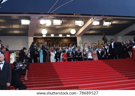 CANNES, FRANCE - MAY 21:  'La Source Des Femmes' Premiere at Palais des Festivals during the 64th Annual Cannes Film Festival on May 21, 2011 in Cannes, France