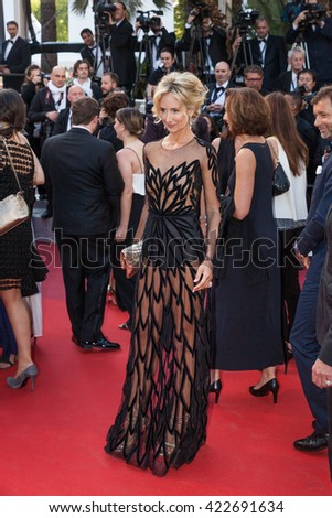 Cannes, France - 17 MAY 2016 - Lady Victoria Hervey attends the 'Julieta' Premiere at the annual 69th Cannes Film Festival at Palais des Festivals