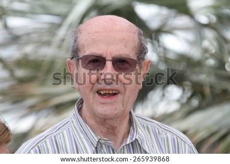 CANNES, FRANCE - MAY 13: Manoel de Oliveira attends 'The Strange Case Of Angelica' Photocall held at the Palais Des Festivals during the 63rd  Cannes Film Festival on May 13, 2010 in Cannes, France.  - stock photo