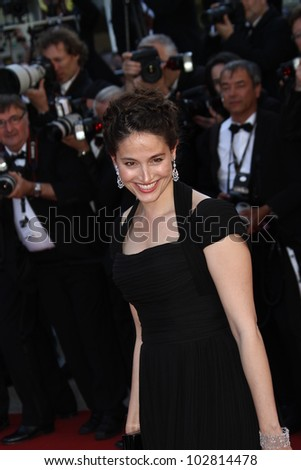 CANNES, FRANCE - MAY 16: Marie Gillain attends the Opening Night Dinner during the 65th Annual Cannes Film Festival at Palais des Festivals on May 16, 2012 in Cannes, France.
