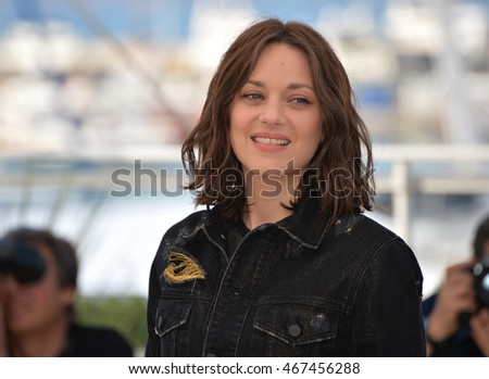 "CANNES, FRANCE - MAY 15, 2016: Marion Cotillard at the photocall for ""From the Land of the Moon"" (""Mal de Pierres"") at the 69th Festival de Cannes."