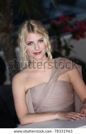 CANNES, FRANCE - MAY 22: Melanie Laurent during the Palme D'Or Winners Photocall at the 64 Annual Cannes Film Festival at the Palais des Festivals on May 22, 2011 in Cannes, France