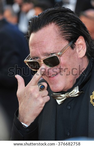 CANNES, FRANCE - MAY 24, 2014: Michael Madsen at the gala awards ceremony at the 67th Festival de Cannes. - stock photo
