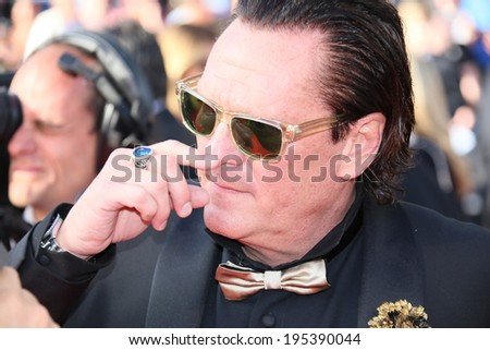 CANNES, FRANCE - MAY 24: Michael Madsen attends the Closing Ceremony and 'A Fistful of Dollars' Screening during the 67th Cannes Film Festival on May 24, 2014 in Cannes, France.