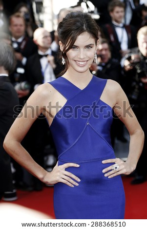 CANNES, FRANCE- MAY 20: Model Sara Sampaio attends the 'Youth' premiere during the 68th Cannes Film Festival on May 20, 2015 in Cannes, France. - stock photo