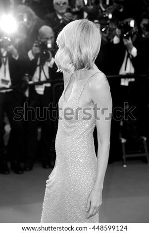 CANNES, FRANCE - MAY 12: Naomi Watts attends the 'Money Monster' Premiere during the 69th Cannes Film Festival on May 12, 2016 in Cannes, France. - stock photo