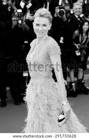 CANNES, FRANCE- MAY 13: Naomi Watts attends the opening ceremony during the 68th Cannes Film Festival on May 13, 2015 in Cannes, France. - stock photo