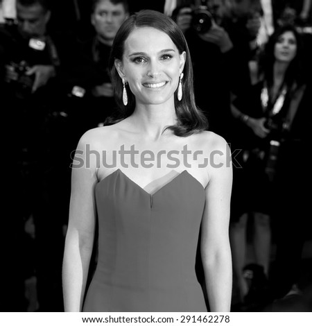 CANNES, FRANCE- MAY 13: Natalie Portman attends the opening ceremony during the 68th Cannes Film Festival on May 13, 2015 in Cannes, France. - stock photo