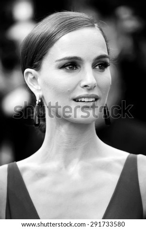 CANNES, FRANCE- MAY 19: Natalie Portman attends the 'Sicario' premiere during the 68th Cannes Film Festival on May 19, 2015 in Cannes, France. - stock photo