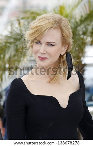 CANNES, FRANCE - MAY 15: Nicole Kidman at the Jury photocall during the 66th Annual Cannes Film Festival at Palais des Festivals on May 15, 2013 in Cannes, France - stock photo