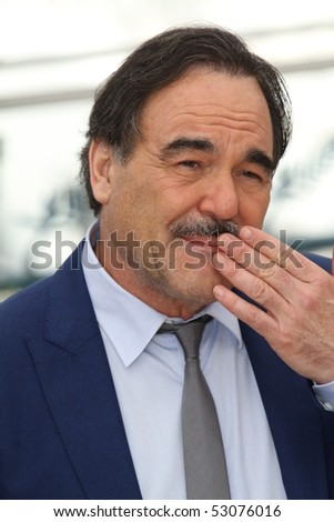 CANNES, FRANCE - MAY 14: Oliver Stone attends the 'Wall Street: Money Never Sleeps' Photo Call held at the Palais des Festivals during the 63rd Cannes Film Festival on May 14, 2010 in Cannes, France