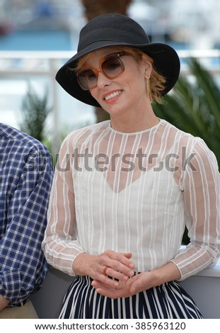 "CANNES, FRANCE - MAY 15, 2015: Parker Posey at the photocall for her movie ""Irrational Man"" at the 68th Festival de Cannes."