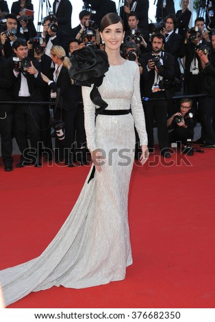 CANNES, FRANCE - MAY 24, 2014: Paz Vega at the gala awards ceremony at the 67th Festival de Cannes. - stock photo
