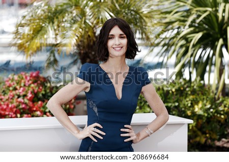 CANNES, FRANCE - MAY 14: Paz Vega attends the 'Grace of Monaco' photo-call at the 67th Annual Cannes Film Festival on May 14, 2014 in Cannes, France