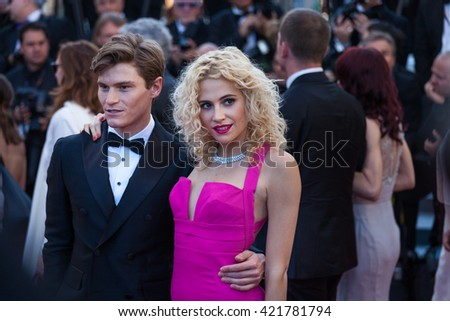 Cannes, France - 15 MAY 2016 - Pixie Lott attends the premiere of 'From The Land Of The Moon (Mal De Pierres)' at the annual 69th Cannes Film Festival at Palais des Festivals