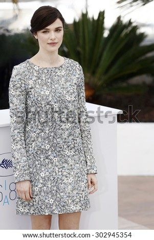 CANNES, FRANCE- MAY 20: Rachel Weisz attends the 'Youth' photo-call during the 68th Cannes Film Festival on May 20, 2015 in Cannes, France. - stock photo