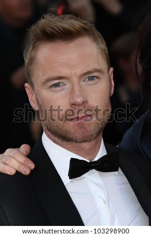 CANNES, FRANCE - MAY 22: Ronan Keating attends the 'Killing Them Softly' Premiere during 65th Annual Cannes Film Festival at Palais des Festivals on May 22, 2012 in Cannes, France.