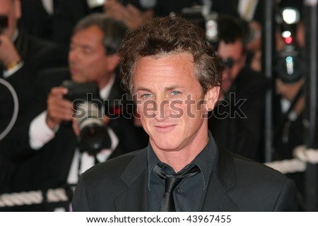 CANNES, FRANCE - MAY 16: Sean Penn attends the 'Un Conte de Noel' premiere at the Palais des Festivals during the 61st Cannes International Film Festival on May 16, 2008 in Cannes, France.