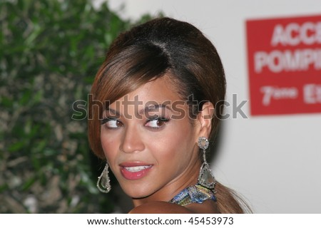 CANNES, FRANCE - MAY 19: Singer and actress Beyonce Knowles attends the 'Dreamgirls' premiere at the Martinez Hotel during the 59th International Cannes Film Festival May 19, 2006 in Cannes, France - stock photo
