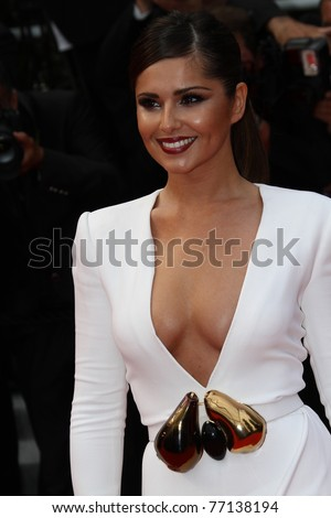 CANNES, FRANCE - MAY 13: Singer Cheryl Cole attends the 'Habemus Papam' premiere at the Palais des Festivals during the 64th Cannes Film Festival on May 13, 2011 in Cannes, France - stock photo