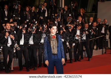 Cannes, France - 19 MAY 2016 - Soko attends the 'It's Only The End Of The World (Juste La Fin Du Monde)' Premiere during the 69th annual Cannes Film Festival