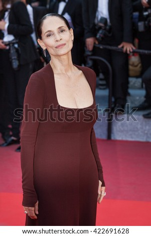 Cannes, France - 17 MAY 2016 - Sonia Braga attends 'Aquarius' preier during The 69th Annual Cannes Film Festival