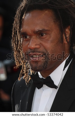 CANNES, FRANCE - MAY 17: The football player  Christian Karembeu attend 'Biutiful' Premiere at the Palais des Festivals during the 63rd Cannes Film Festival on May 17, 2010 in Cannes, France