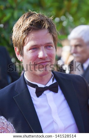 CANNES, FRANCE - MAY 25: Thomas Vinterberg arrives at 'Venus In Fur' Premiere during the 66th Annual Cannes Film Festival at Grand Theatre Lumiere on May 25, 2013 in Cannes, France.