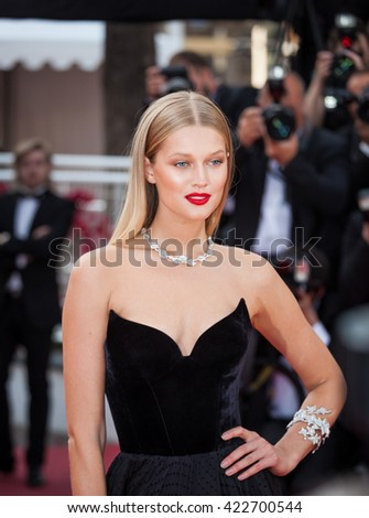 Cannes, France - 16 MAY 2016 - Toni Garn attends the 'Loving' premiere during the 69th annual Cannes Film Festival - stock photo