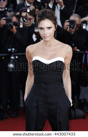 CANNES, FRANCE - MAY 11: Victoria Beckham attends the 'Cafe Society' premiere during the 69th Cannes Film Festival on May 11, 2016 in Cannes, France.
