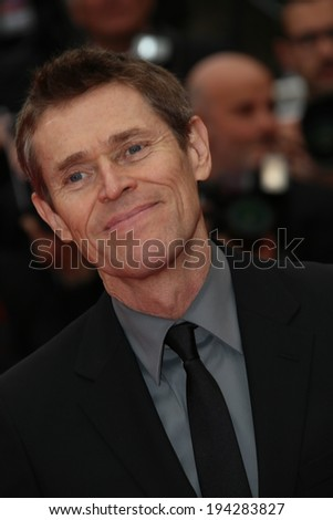 CANNES, FRANCE - MAY 22:  Willem Dafoe attends the 'Jimmy's Hall' premiere during the 67th Annual Cannes Film Festival on May 22, 2014 in Cannes, France.