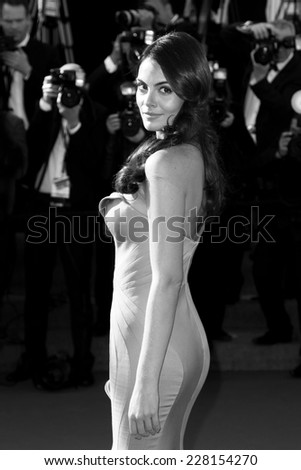 CANNES, FRANCE - MAY 25: Ximena Navarrete attends the Premiere of 'La Venus A La Fourrure' at The 66th Cannes Film Festival on May 25, 2013 in Cannes, France - stock photo