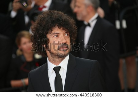 CANNES, FRANCE - MAY 11:  Yarol Poupaud attends the 'Cafe Society' premiere during the 69th Cannes Film Festival at the Palais des Festivals on May 11, 2016 in Cannes, France.