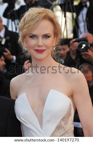 Cannes Jury member Nicole Kidman at the closing awards gala of the 66th Festival de Cannes. May 26, 2013  Cannes, France - stock photo