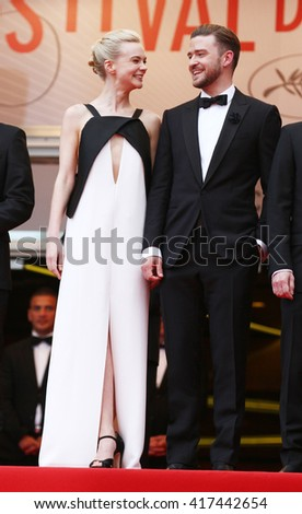 CANNES - MAY 19, 2013: Carey Mulligan and Justin Timberlake attend Inside Llewyn Davis premiere - The 66th Annual Cannes Film Festival on May 19, 2013  in Cannes, France.