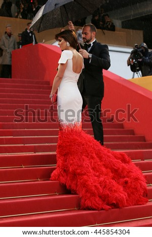 CANNES - MAY 20, 2012:Cheryl Cole attends the Amour Premiere during the 65th Annual Cannes Film Festival on May 20, 2012 in Cannes  - stock photo