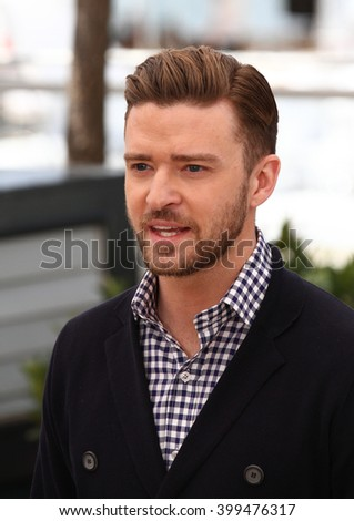 CANNES - MAY 22, 2013: Justin Timberlake attends a photocall at the Cannes film festival on May 22, 2013 in Cannes