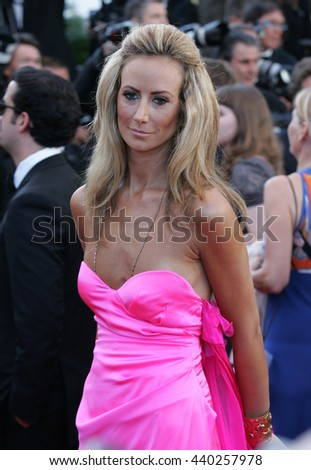 CANNES - MAY 22, 2012: Lady Victoria Hervey attends the Killing Them Softly Premiere - 65th Annual Cannes Film Festival on May 22, 2012 in Cannes - stock photo