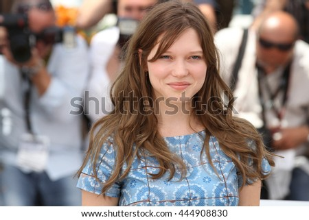 CANNES - MAY 11, 2011: Lea Seydoux seen at the Cannes Film Festival on May 11, 2011 in Cannes