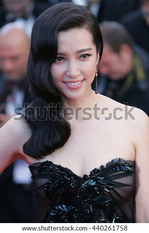 CANNES - MAY 22, 2012: Li Bing Bing attends the Killing Them Softly Premiere - 65th Annual Cannes Film Festival on May 22, 2012 in Cannes - stock photo