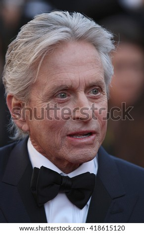 CANNES - MAY 21, 2013: Michael Douglas attends the Behind the Candelabra Premiere - The 66th Annual Cannes Film Festival on May 21, 2013 in Cannes