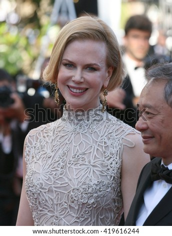 CANNES - MAY 23, 2013: Nicole Kidman attends the Nebraska Premiere - The 66th Annual Cannes Film Festival on May 23, 2013 in Cannes - stock photo