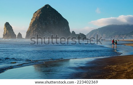 Cannon Beach Landscape, Oregon USA